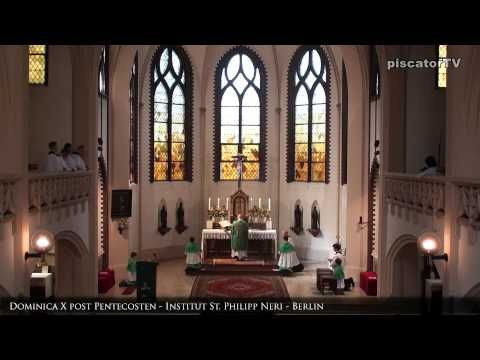 Dominica X post Pentecosten 13 Canon   Traditional Latin Mass