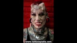 [Top 10 worst ...trying not to judge... tattoos] Video