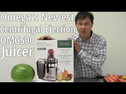 Omega OMG500s Mega Mouth Juicer Unboxing & Demo Review
