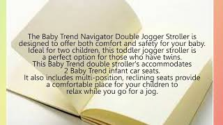 Best Baby Trend Expedition Double Jogging Stroller Reviews