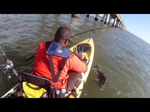 August Kayak Fishing Trip