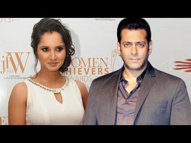 Salman Khan To Play Sania Mirza's Husband In Biopic?