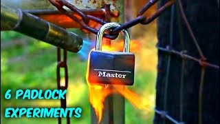 6 Cool Lock Experiments Compilation