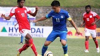 Bangladesh vs India (Highlights) SAFF Championship 2013