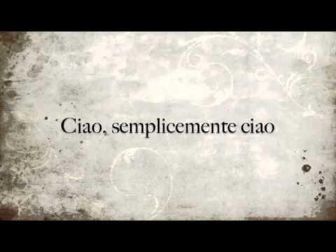 Ciao ...semplicemente ciao