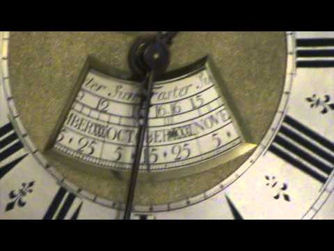 Antique Clocks : Antique Grandfather Clock : Equation of Time