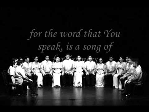 I Will Sing Forever - Philippine Madrigal Singers [HQ]