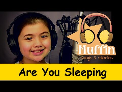 Muffin Songs - Are You Sleeping? (Frère Jacques)   nursery rhymes & childre