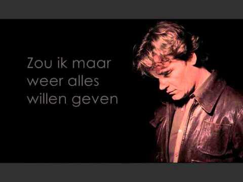 Jeroen van der Boom - Werd de tijd maar teruggedraaid (lyrics)