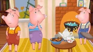 The Three Little Pigs - Fairy Tales Full Episode 10 - Children's Books, Stories and Games