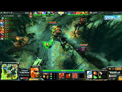 Mousesports vs iCCup  RaidCall EMS One Summer DOTA 2 Cup 1  TobiWan
