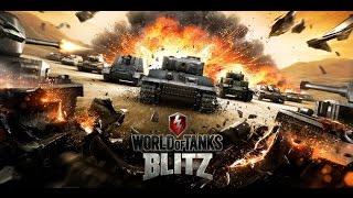 World of Tanks Blitz! Серия 48! Разнесли в пух и прах! Игра ворлд оф танкс