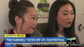 Astrid in the ATL talks with Awkwafina about her new movie 'The Farewell'
