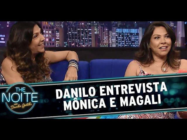 The Noite (19/12/14) - Entrevista com Mônica e Magali