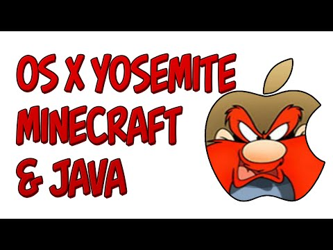 Minecraft | Java on Mac OS X Yosemite and Minecraft 1.8