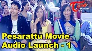 Pesarattu Movie Audio Launch    Part 01    Nandu    Nikhitha Narayan