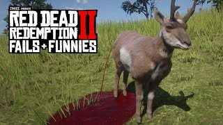 Red Dead Redemption 2 - Fails & Funnies #8 (Random & Funny Moments)