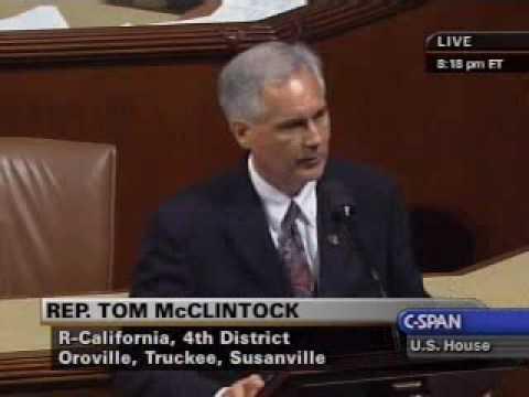 Congressman Tom McClintock (CA-04)