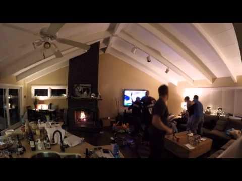 Wild Patriots Fans Reaction - Super Bowl 49 Patriots vs. Seahawks - Are you kidding me???!!!!