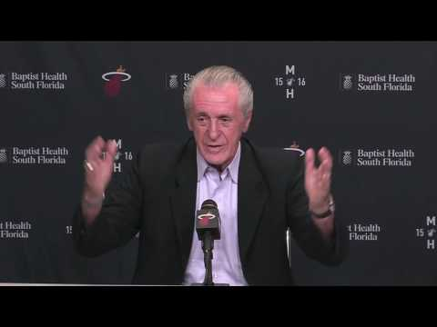 Miami Heat - Pat Riley press conference Part 1 (of 4): On Chris Bosh, free agency