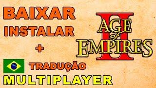 AGE OF EMPIRES II - BAIXAR INSTALAR + MULTIPLAYER + TRADUÇÃO !