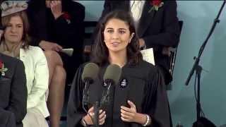 Undergraduate Speaker Sarah Abushaar | Harvard Commencement 2014