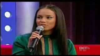 Alicia Keys Bet Interview 106 Park 2007