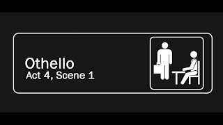 Othello but it's the Office   Act 4 Scene 1