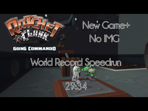 Ratchet & Clank: Going Commando - NG+ No IMG Speedrun in 29:34 [Former WR]