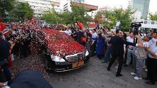 Cumhurbaşkanı Erdoğan yemin töreni için TBMM'ye hareket etti