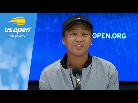 2018 US Open Press Conference: Naomi Osaka (09月10日 01:15 / 6 users)