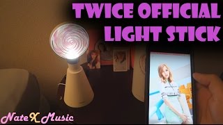 Twice - Official Light Stick & Mood Light [Unboxing & App Demo]