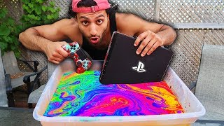 HYDRO Dipping PS4 and CONTROLLER 🎨🎮