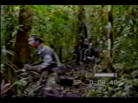 Ejercito del Ecuador  - Guerra del Cenepa  1