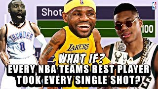 What If Every NBA Teams BEST PLAYER Took Every Single Shot?