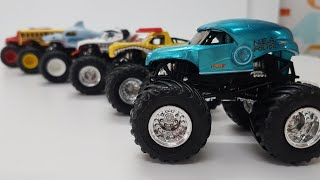 Monster Trucks for Kids unboxing Hot Wheels Monster Jam 2019 show for Kids