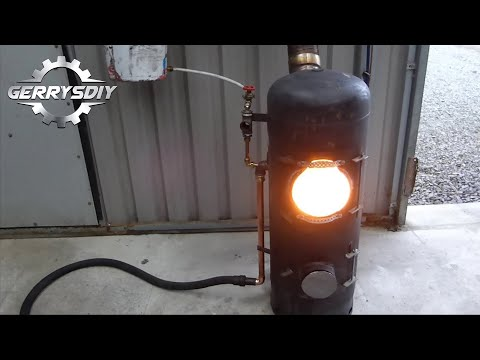 Build a New and improved fantastic output Waste Oil Burner.