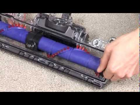 Dyson DC41 Mk2. DC55. DC65. DC66 - Resetting the brush bar (Official Dyson video)