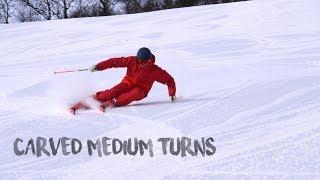 Carved Medium Turns - Interski 2019 training