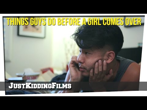 Things Guys Do Before A Girl Comes Over klip izle