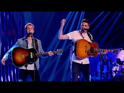 The Mac Bros performing on The Voice