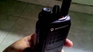 Review Ulasan Singkat Motorola GP328 VHF Indonesia