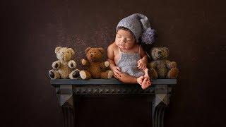 CREATIVE Newborn photo session | newborn photography with Digital Backdrops