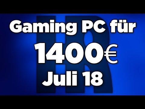 1400€ Gaming PC Juli 2018 | Intel + AMD und GTX 1080 | Computer günstig kaufen