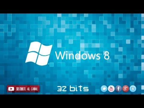 Windows 8 Pro de 32 bits en español imagen iso mas activador-el mejor video