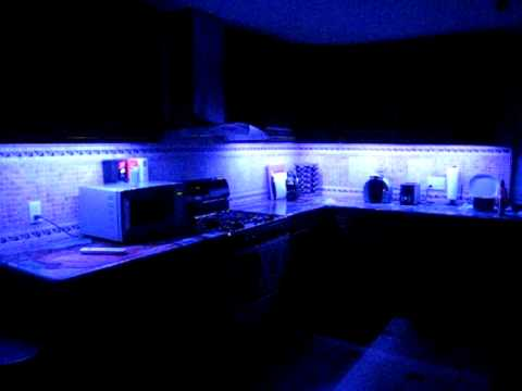 RGB Color Change LED for Kitchen cabinets - YouTube