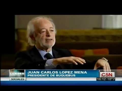 C5N - LIDERES: JUAN CARLOS LOPEZ MENA | PARTE 1