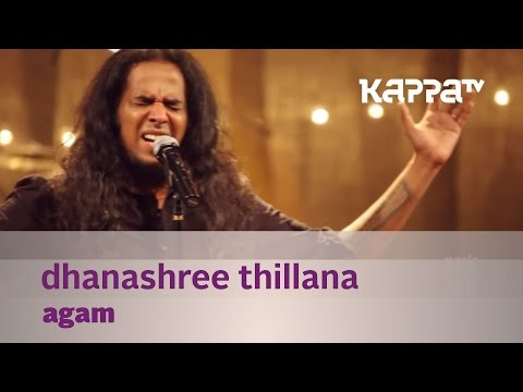 Dhanashree Thillana by Agam - Music Mojo - Kappa TV