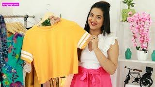 पेट मोटा हो तो Crop Top कैसे पहनें ? 4 Crop Top Styling Tips Plus Size | Perkymegs Hindi
