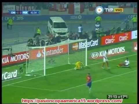 (Relato Emocionante) Chile 2 Peru 1 (ADN Radio Chile 91.7) Copa America 2015